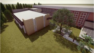 Colocarán la piedra fundamental de las futuras aulas de Posgrado