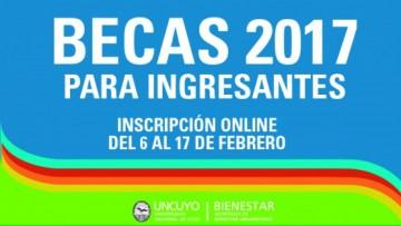 Convocatoria a Becas para Ingresantes 2017