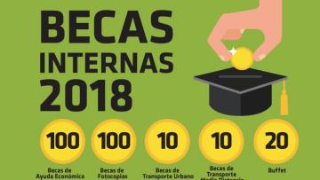 Convocatoria abierta: Becas 2018 para estudiantes