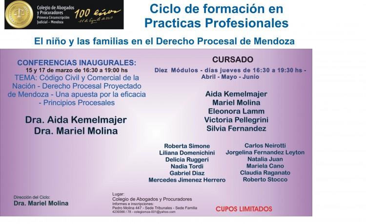 Capacitarán en temáticas de niñez y familia en el Derecho Procesal de Mendoza