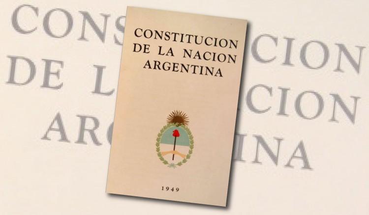 Analizarán la Constitución de 1949 en su 70 aniversario