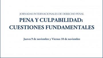 Segundas Jornadas Internacionales de Derecho Penal