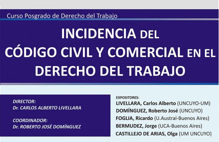 Incidencia del Código Civil y Comercial en el Derecho del Trabajo