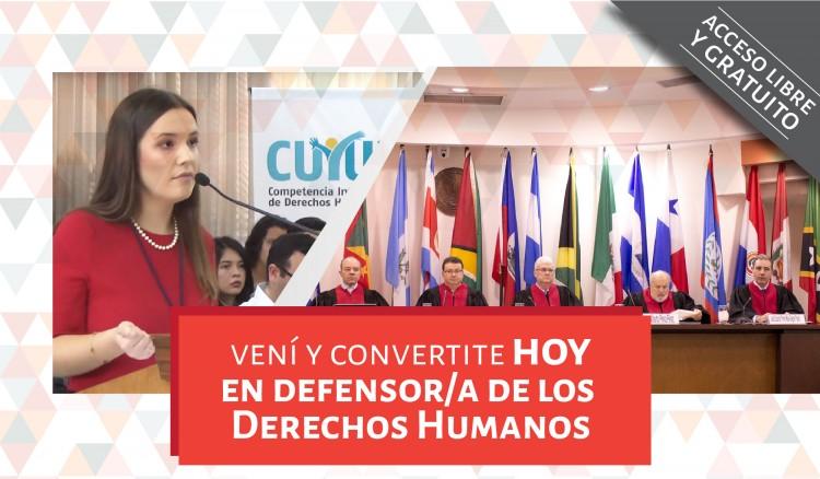"""Curso en Litigio ante el Sistema Interamericano de Derechos Humanos """"Moot Court"""""""