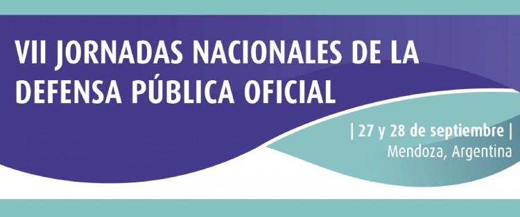 VII Jornadas Nacionales de la Defensa Pública Oficial