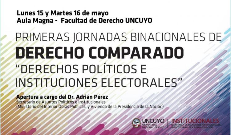 Compararán sistemas electorales de Argentina y Brasil