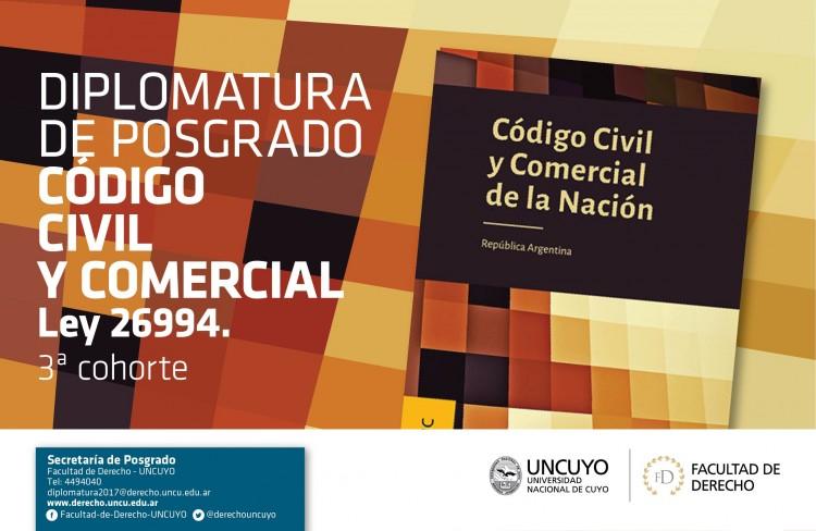 Preinscripción: Diplomatura de Posgrado CCyCN Ley 26.994 - 3ra Cohorte