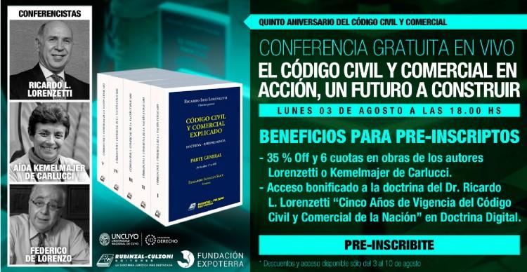 """Conferencia """"El Código Civil y Comercial en Acción, un Futuro a Construir"""""""