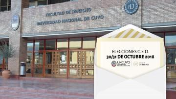 Elecciones C.E.D.