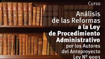 Curso sobre Ley de Procedimiento Administrativo
