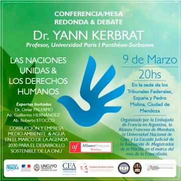 Conferencia Dr. Yann Kerbrat