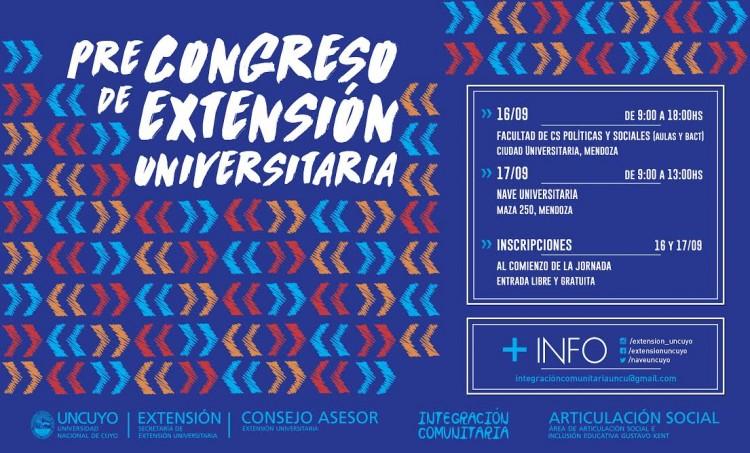 Pre-Congreso de Extensión Universitaria