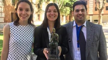 La Facultad de Derecho se adjudicó la Competencia Internacional de Derechos Humanos de Alcalá