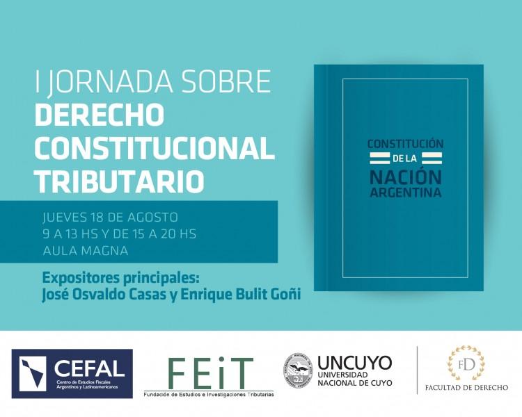I Jornada sobre Derecho Constitucional Tributario
