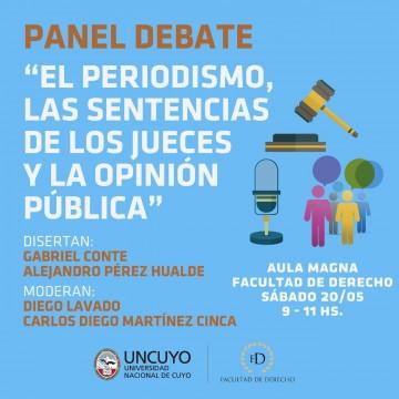 Jueces y periodistas debatirán el impacto de las sentencias en la opinión pública