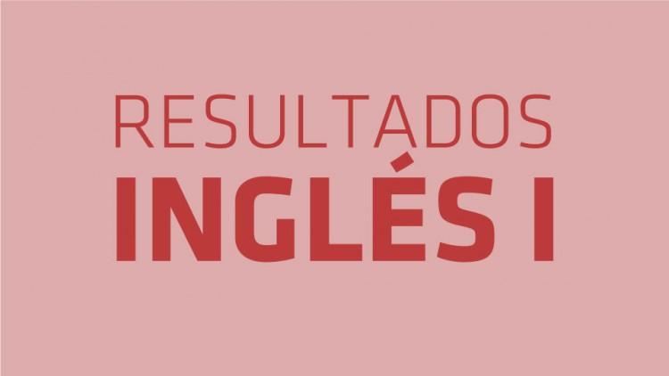 Resultados Examen Inglés I