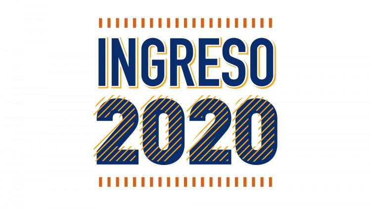 Ingreso 2020