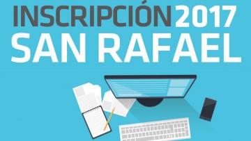 Inscripción 2017 en San Rafael para aspirantes del sur mendocino