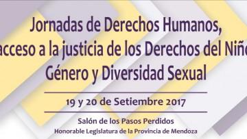 Jornadas \Derecho Humanos; acceso a justicia de los derechos del niño, género y diversidad sexual\