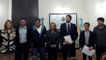 La H. Cámara de Diputados de Mendoza distinguió a Nicolás Rallo, Iván Vázquez Guerrero y Matías Kuret por su actuación en Washington