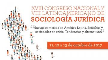 Se acerca el Congreso Nacional y Latinoamericano de Sociología Jurídica