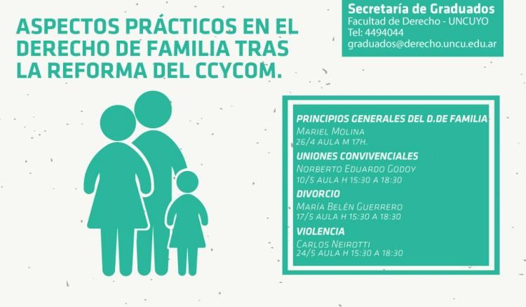 Taller sobre los aspectos prácticos en el Derecho de Familia tras la Reforma del CCyCom