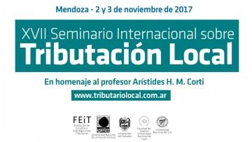 Ya se viene el Seminario Internacional sobre Tributación Local
