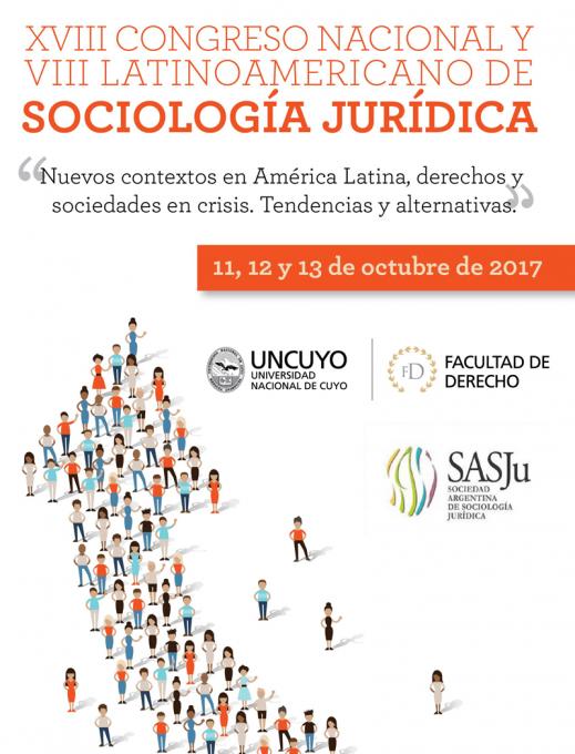 Bienvenidos al XVIII Congreso Nacional y VIII Lationoamericano de Sociología Jurídica