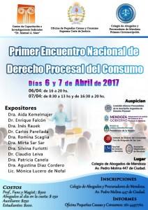 Primer Encuentro Nacional de Derecho Procesal del Consumo