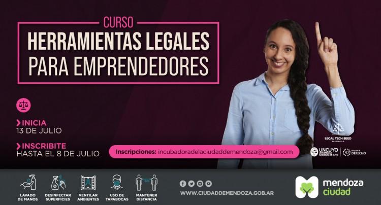 Curso sobre herramientas legales para emprendedores