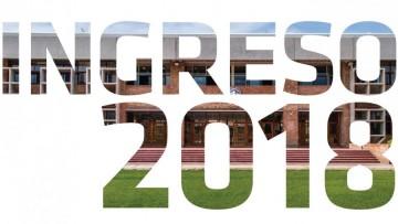 Primera preinscripción del Ingreso 2018