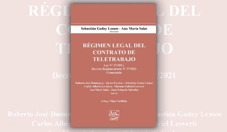 Se presentará una obra colectiva sobre la Ley de Contrato de Teletrabajo